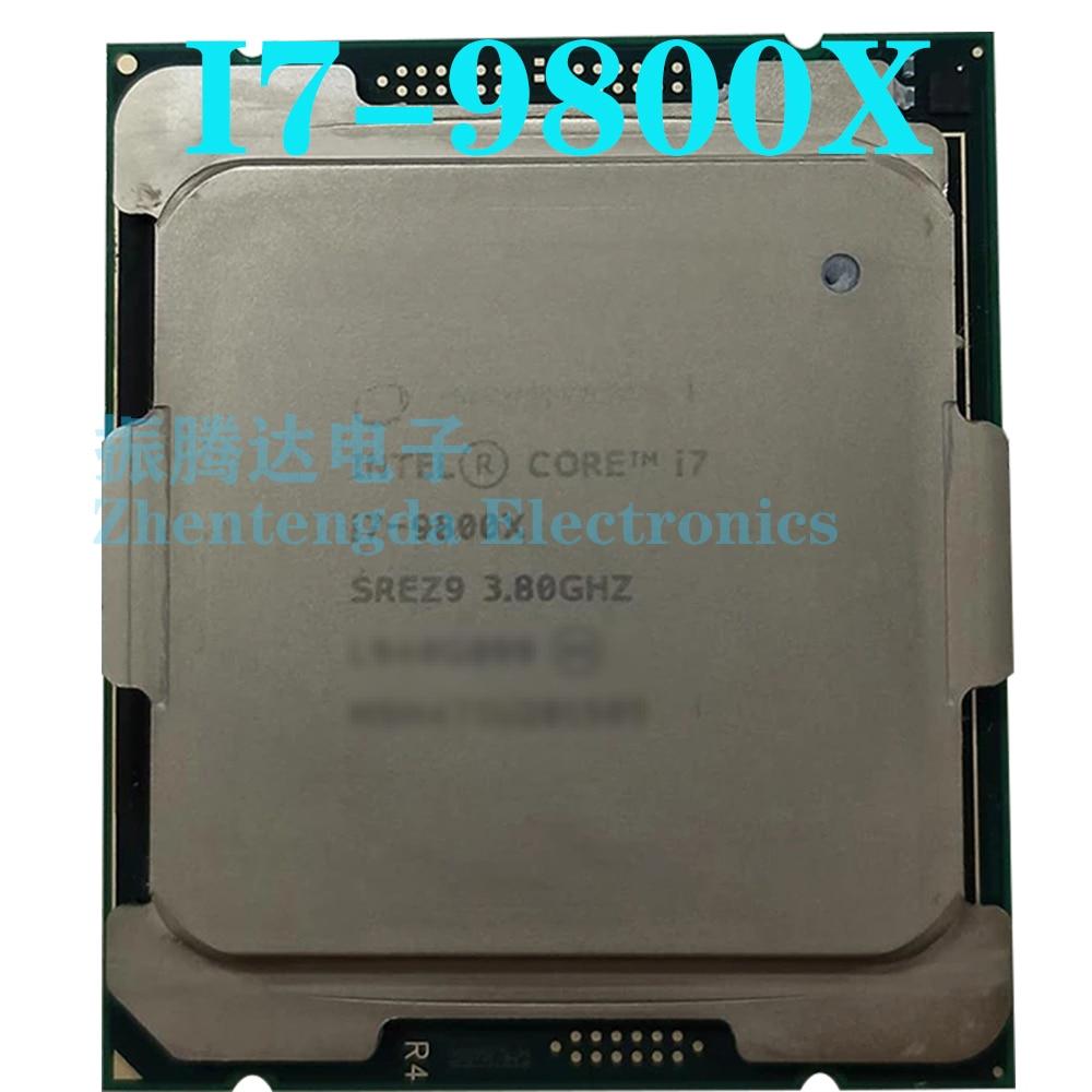Intel Core i7-9800X CPU 3.8GHz 8 Core 16 Threads LGA-2066 I7-9800X CPU Processor