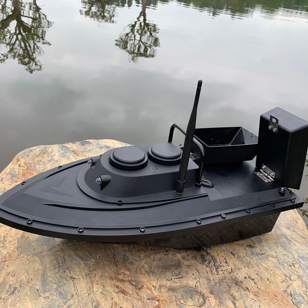 New D11 Fishing Tool Smart RC Bait Boat Boy Toys Dual Motor Fish Finder Ship Boat Remote Control 500m Fishing Boats Speed Boat enlarge