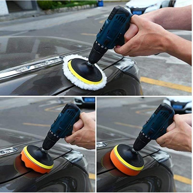 3-calowe narzędzie do woskowania wosku samochodowego 8 sztuka - Narzędzia ścierne - Zdjęcie 5