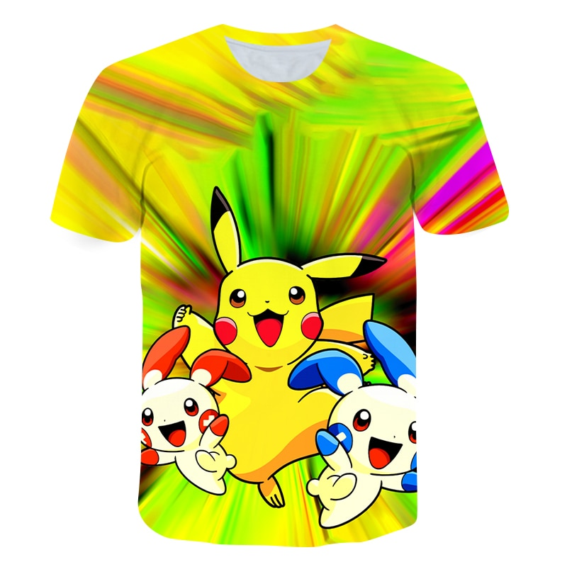 2021 Summer New Arrival Kids T-shirt Cute and Fun Cartoon Children's Printed Short-Sleeved Shirt Factory Direct Sales Boutique