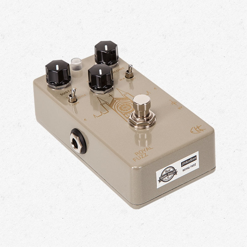 CKK Royal Fuzz a Modern Fuzz Distortion Guitar Effect Pedal Electric Effects Guitar Parts Accessory enlarge