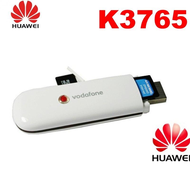 غير مقفلة هواوي الجيل الثالث 3G مودم فودافون K3765 USB دونغل 3G HSDPA USB مودم 3G دونغل