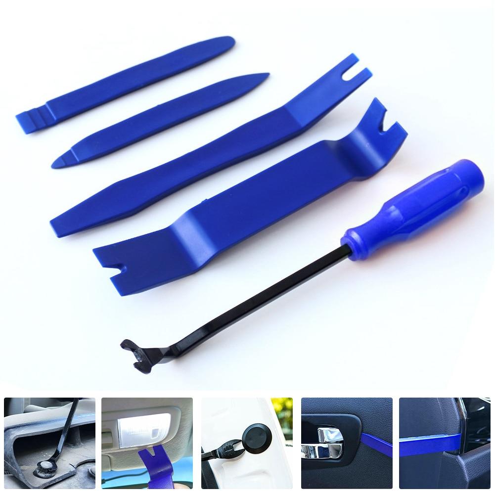 5 шт./компл. набор инструментов для снятия автомобильной отделки, застежка для дверной панели, пластиковые инструменты для автомобильной пр...