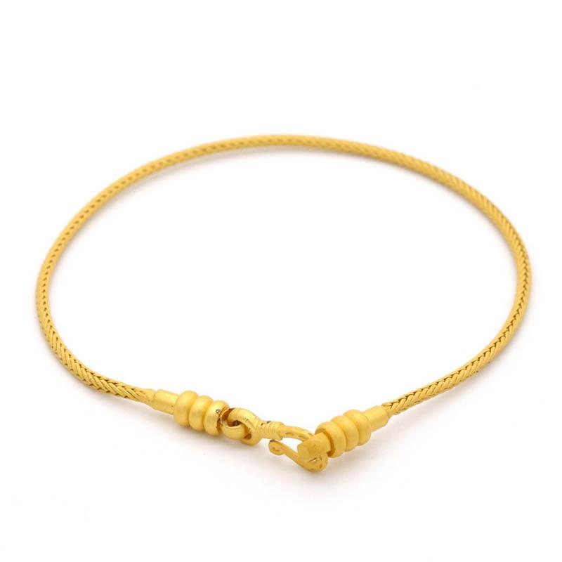 6 pçs encantos básicos pulseira antigo alluvial cor de ouro básico cobra cadeias parafuso removível pulseira ajuste encantos feminino pulseira diy