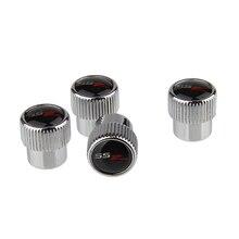 Tampas de válvula acessórios do carro rodas válvula de pneu tampões emblema para ssr chevrolet chevy malibu captiva aveo cruze silverado
