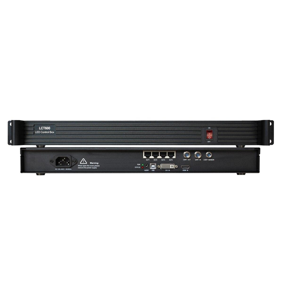 P2 P3 P4 P3.91 P2.5 P6 P5 P10 P16 64*64 128*64 LED Display Module Sending Card Box LCT600 With nova msd600 as Novastar Mctrl600