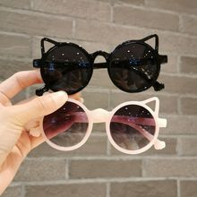 Summer Girl Boys Cute Sunglasse Animal Cartoon Flower Wings Outdoor  Children Lovely Vintage Sunglas