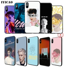 IYICAO Troye Sivan estuche para teléfono suave para iPhone 11 Pro XR X XS X máx. 6S 6 7 8 Plus 5 5S SE TPU silicona de 7 Plus