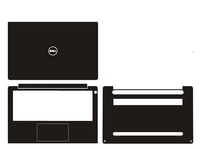 """Ordenador portátil de fibra de carbono vinilo de la etiqueta engomada de la piel de la cubierta para Dell XPS 13 9380 de 13,3"""""""