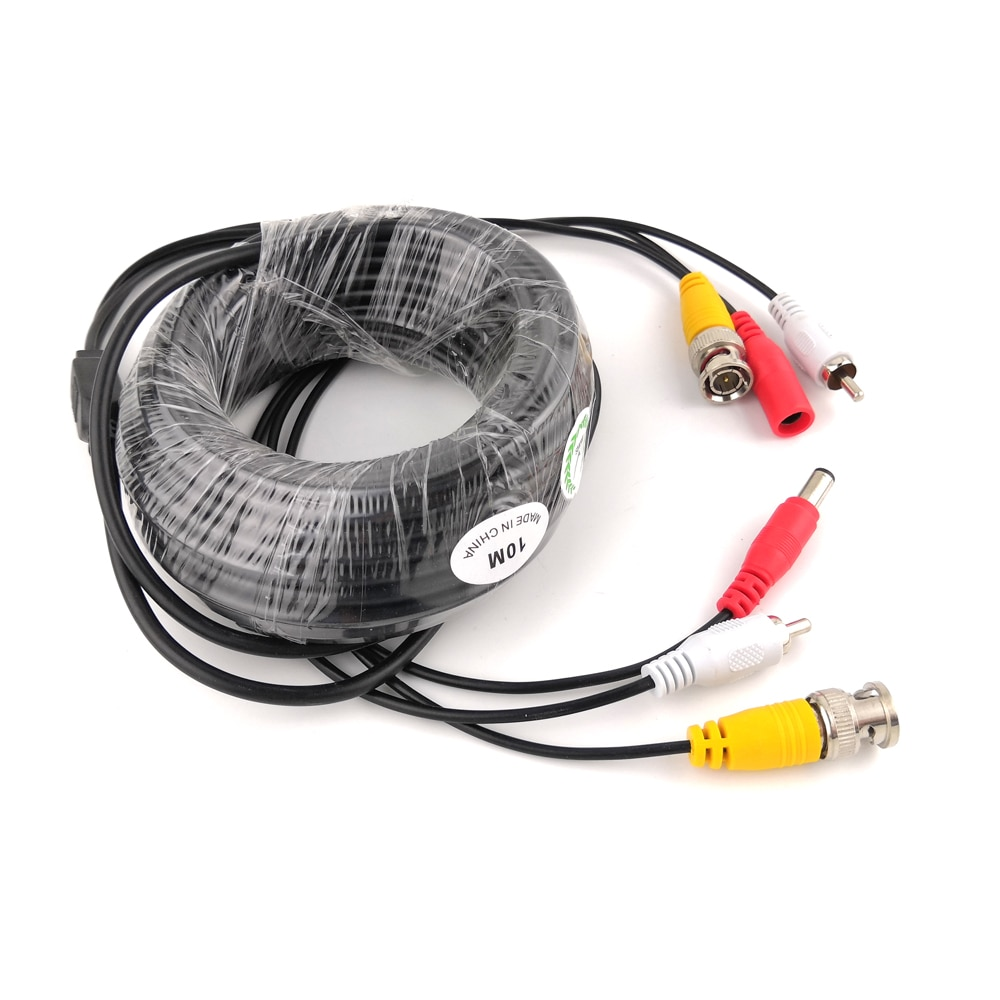 BNC CCTV Cable Coaxial 5M 10M Security Camera Video Audio Power BNC Cable for AHD CVI TVI CCTV DVR Surveillance System enlarge