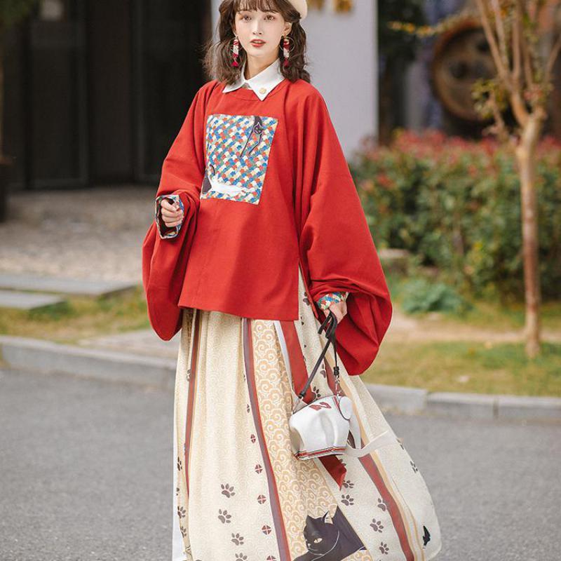 ازياء الاميرة القديمة الانيقة لأسرة تانغ الرجعية فساتين زفاف خرافية فستان Hanfu الصيني التقليدي ملابس المسرح