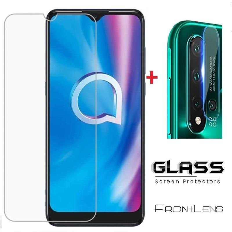 Tempered Glass for Alcatel 3X 1SE 3L 1S 1V 2020 ProScreen Protector For Alcatel 3X 2020 Camera Lens