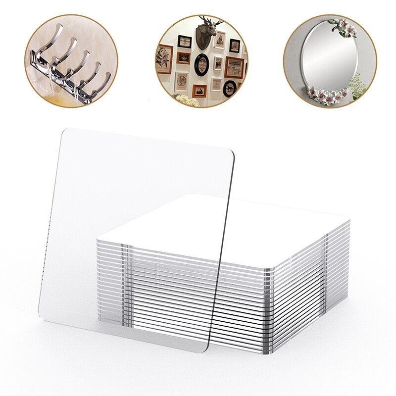 100Pcs Powerful Non-Mark Sticker Photo Wall Auxiliary Double-Sided Pendating Fixed Two-Sided Sticky Bathroom Waterproof Sticker
