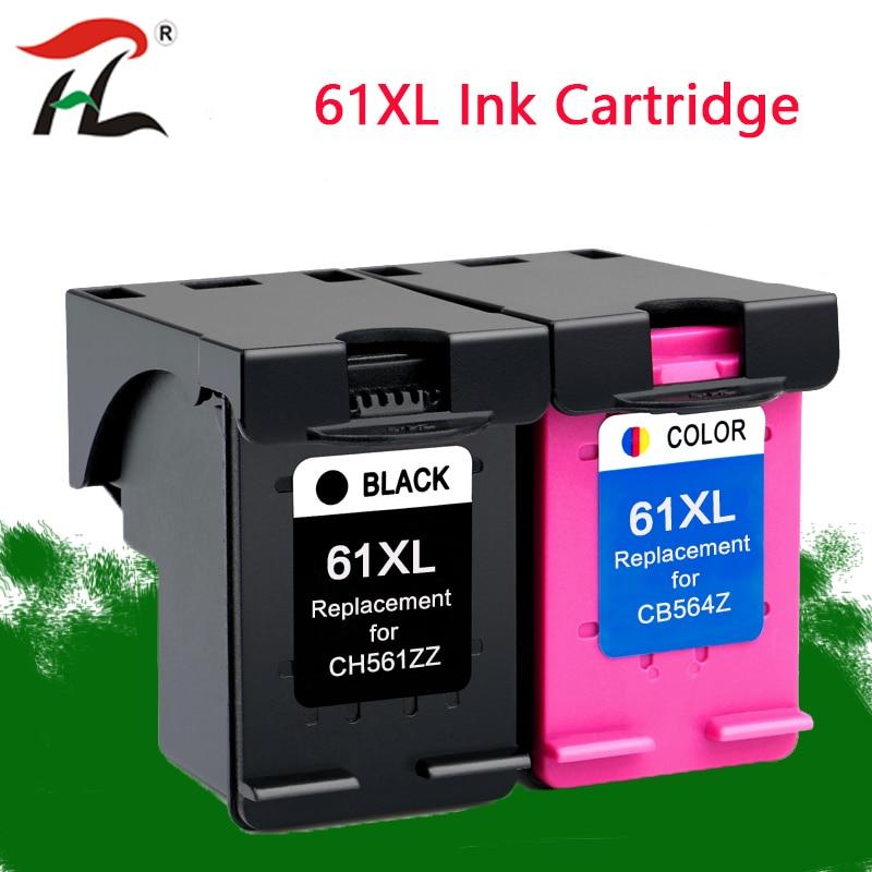 61xl Cartucho de TINTA Compatível para hp 61 xl hp 61 xl para envy 5530 Deskjet 2540 1050 2050 2510 3050 3054 3000 1000 printer