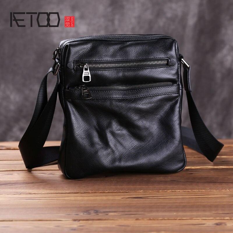 إيتوو حقائب رجالي جلدية, حقائب عصرية بكتف واحد, طبقة علوية من الصدفية حقائب متدلية غير رسمية