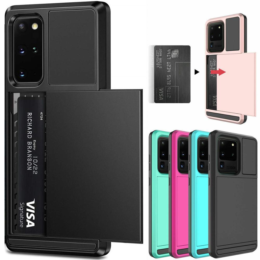 Защитный чехол для телефона Samsung Galaxy S20 Plus, чехол S20 + S20plus с отделениями для карт, противоударный чехол для Samsung S20 Ultra S20ultra Fundas