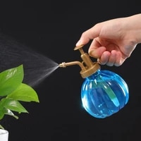 1pcs plant flower plastic garden watering pot mister 300ml water cans sprayer bottle spray irrigation supplies hairdressing tool