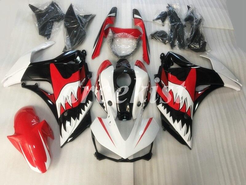 OEM Quality New ABS Fairing kit for YAMAHA YZF-R3 14 15 16 YZF R3 R25 2014 2015 2016 2017 Full Fairings Body set Red Shark