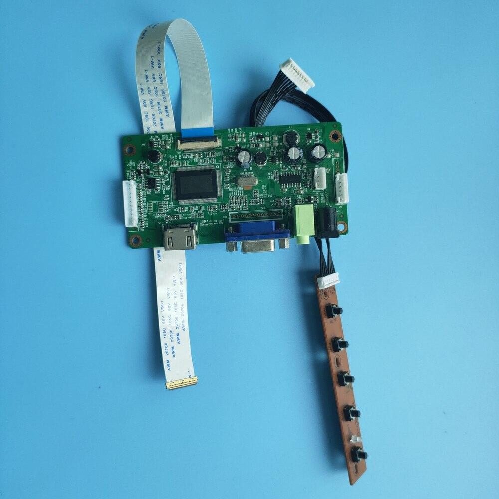 ل NV156FHM-T04 لتقوم بها بنفسك سائق 40Pin LCD EDP عدة VGA 15.6