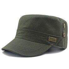 58-63cm 62-68cm de talla grande gorra plana del ejército papá gorro de sol Casual hombres pesca tamaño grande sombreros militares