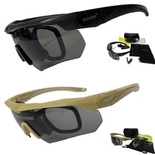 Tactical Glasses With Moypia Frame Outdoor Sport Airsoft Shooting Hunting Goggles Military Army Sung