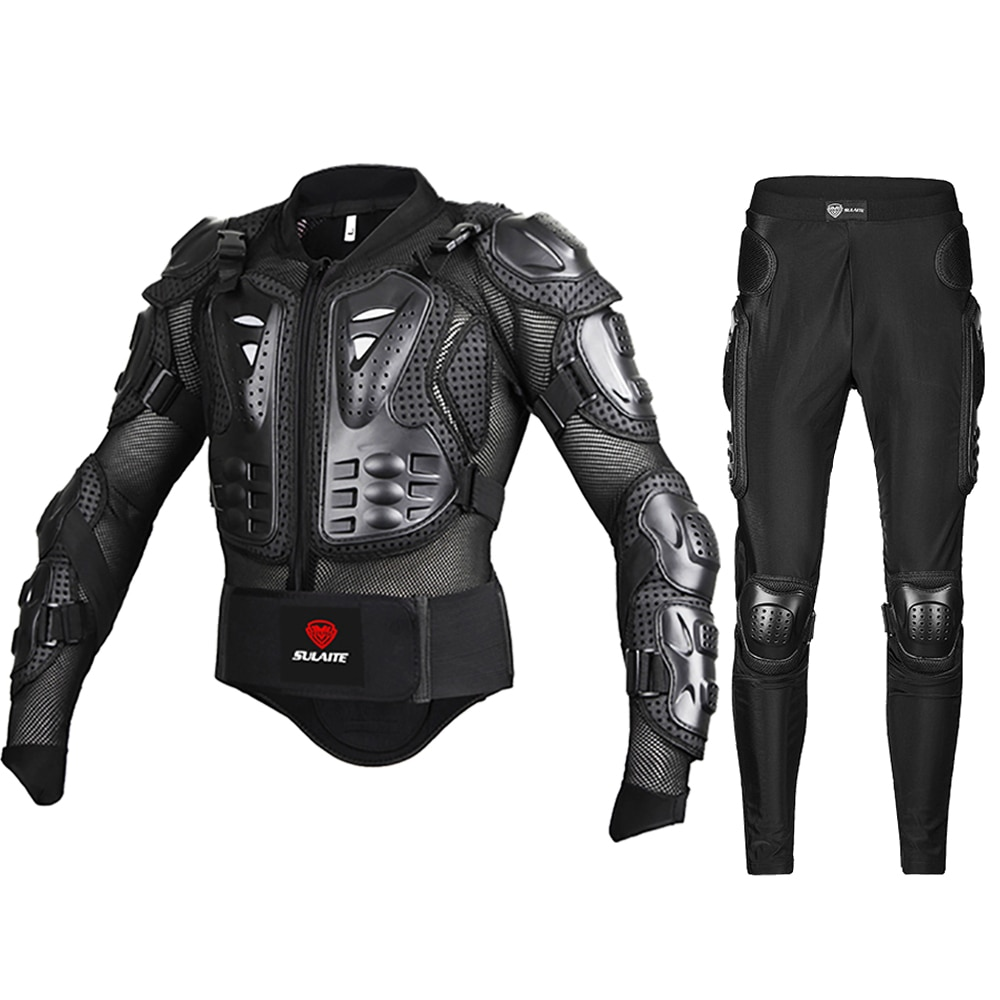 Genuine Motorcycle Jacket Racing Armor Protector ATV Motocross Body Protection Jacket Clothing Prote