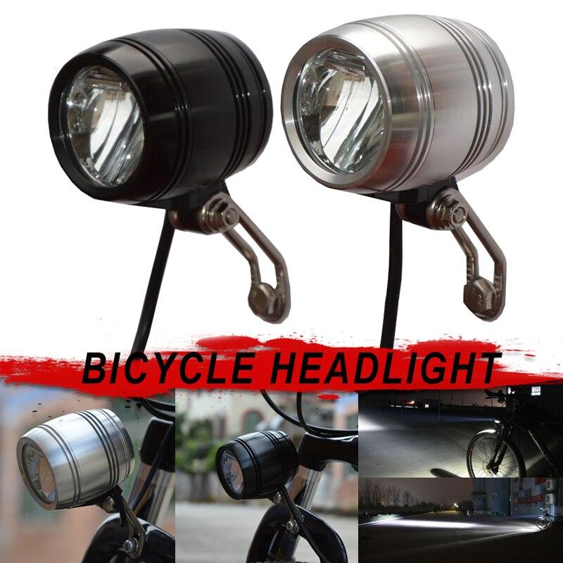 Nouveau lampe frontale de vélo pour Dynamo de moyeu avec câble de feu arrière Compact lumineux XD88