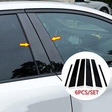 Ventana de coche Columna B C Pilar cubre molduras para Mazda 6 04-15 Accesorios