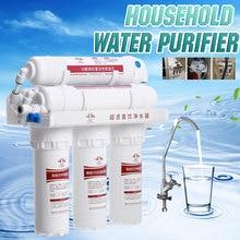 Filtro purificador de agua 3 + 3, sistema de filtro de agua potable para el hogar, grifo de cocina, Kit de cartucho