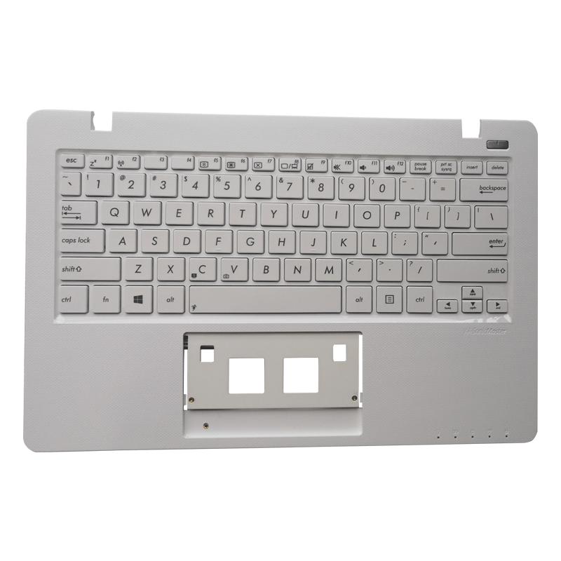 OVY US laptop keyboard for ASUS F200 F200CA F200LA F200MA X200 X200C X200CA X200L X200LA X200M X200MA R202CA R202LA C Palmrest