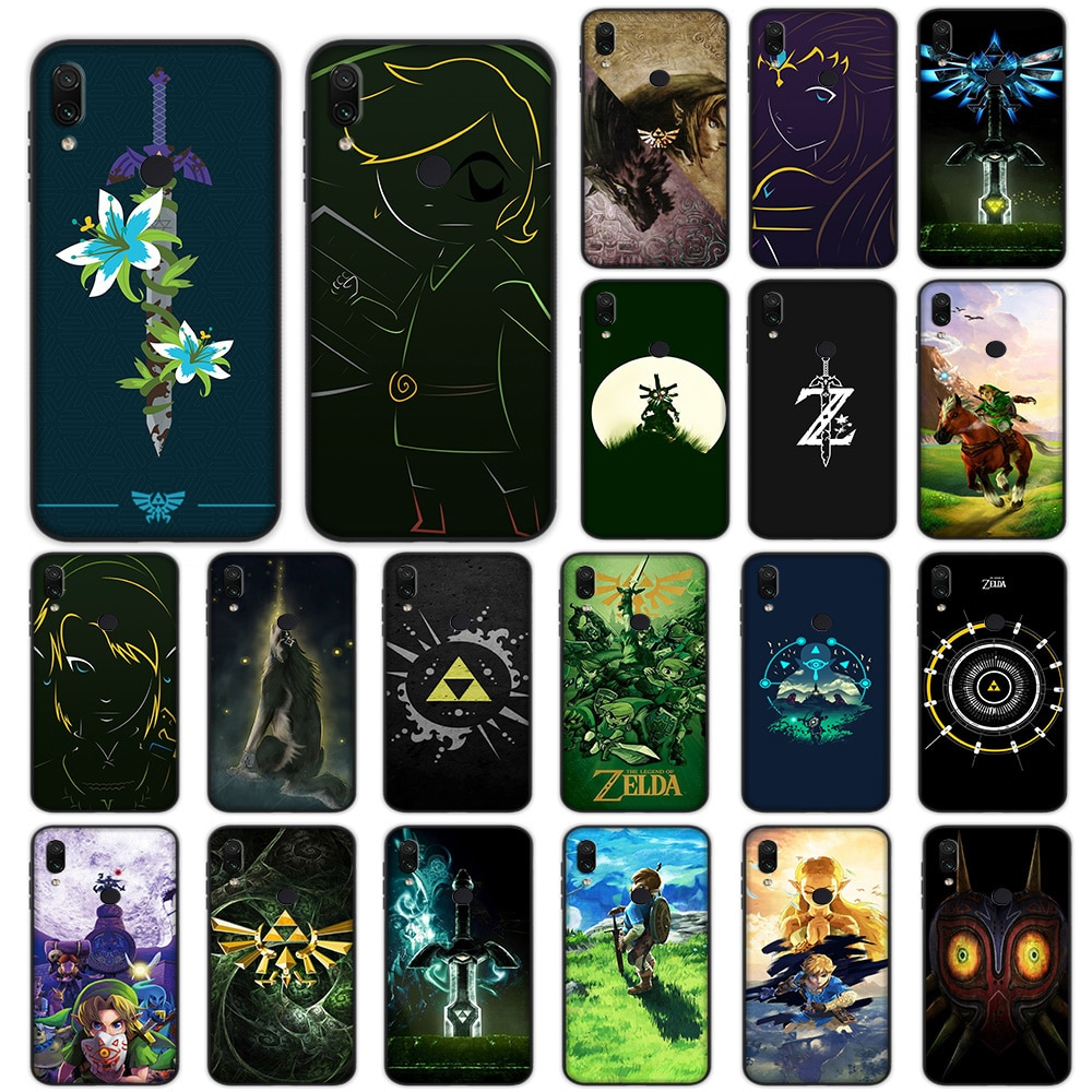 La leyenda de Zelda caso suave para Xiaomi Redmi Note 5 6 K20 A3 9T Pro CC9 CC9e 7A