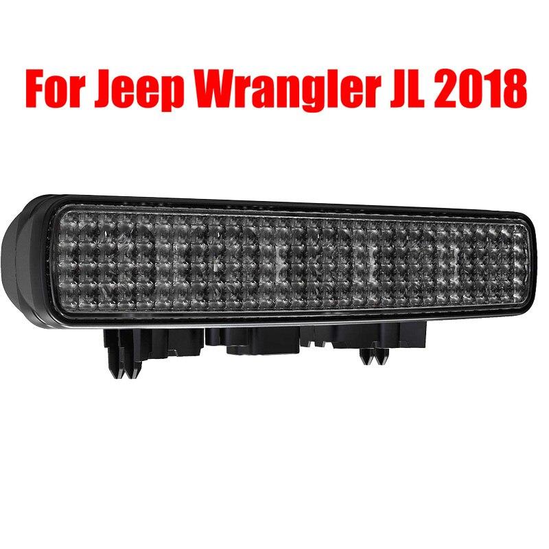 Luz de Freno LED de luces traseras para Jeep Wrangler JL 2018, accesorios de montaje para Jeep Unlimited JLU 2018