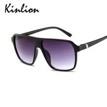 Kinlion Retro Classic Women Oversized Sunglasses Vintage Square Large Plastic Sunglass Men Ladies Re