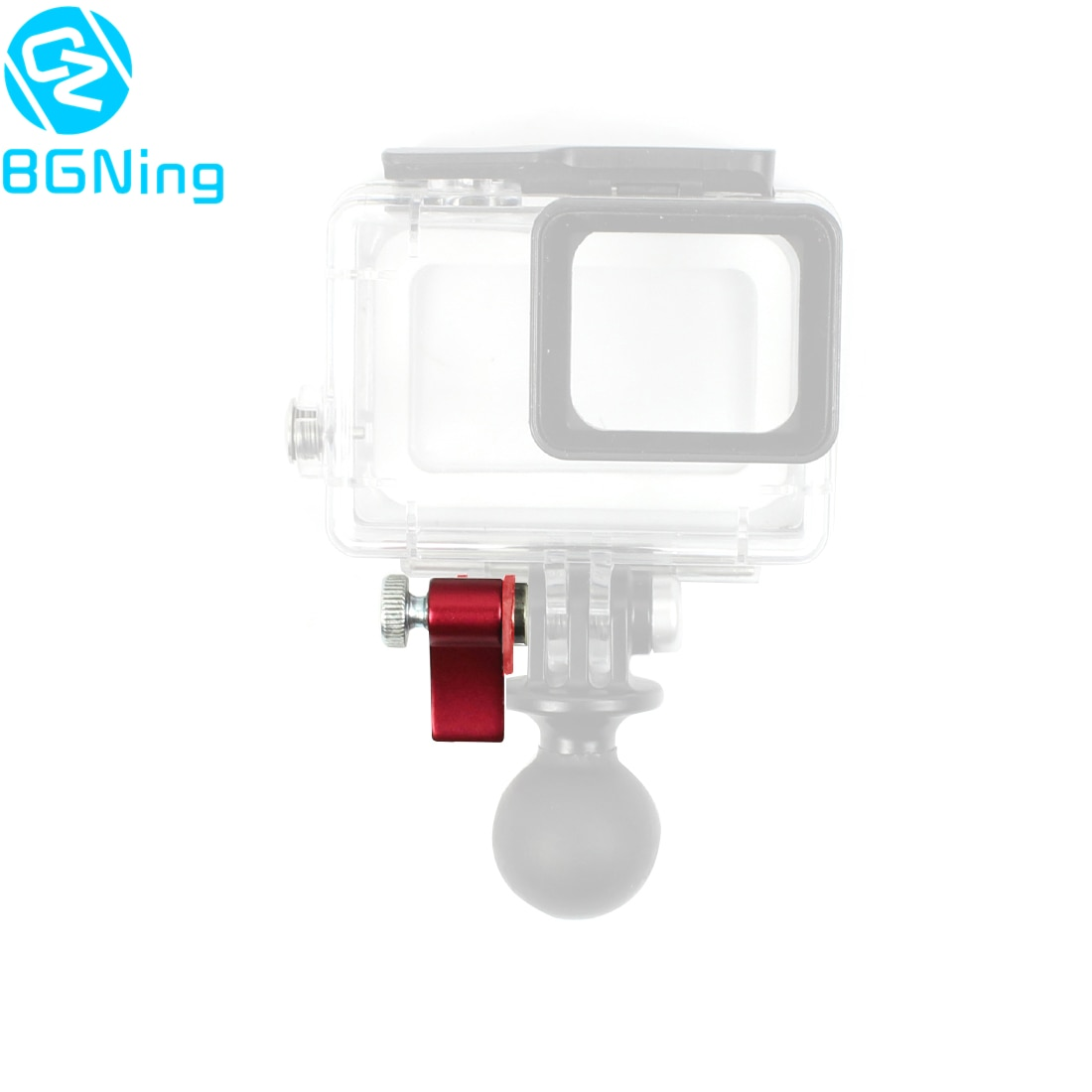 BGNing adaptador de llave de Tornillo de montaje de liberación rápida, Universal de aluminio M5 * 17mm M5 * 25mm para Gopro YI Sjcam EKEN Cámara deportiva