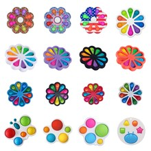 stickers Special Needs Stress Reliever Figet Speelgoed Fitget Toys Game For Adult Kid Push Bubble Fi