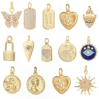 heart eye star charms for jewelry making supplies gold angel charm evil blue eye pendant design diy charms for earrings necklace