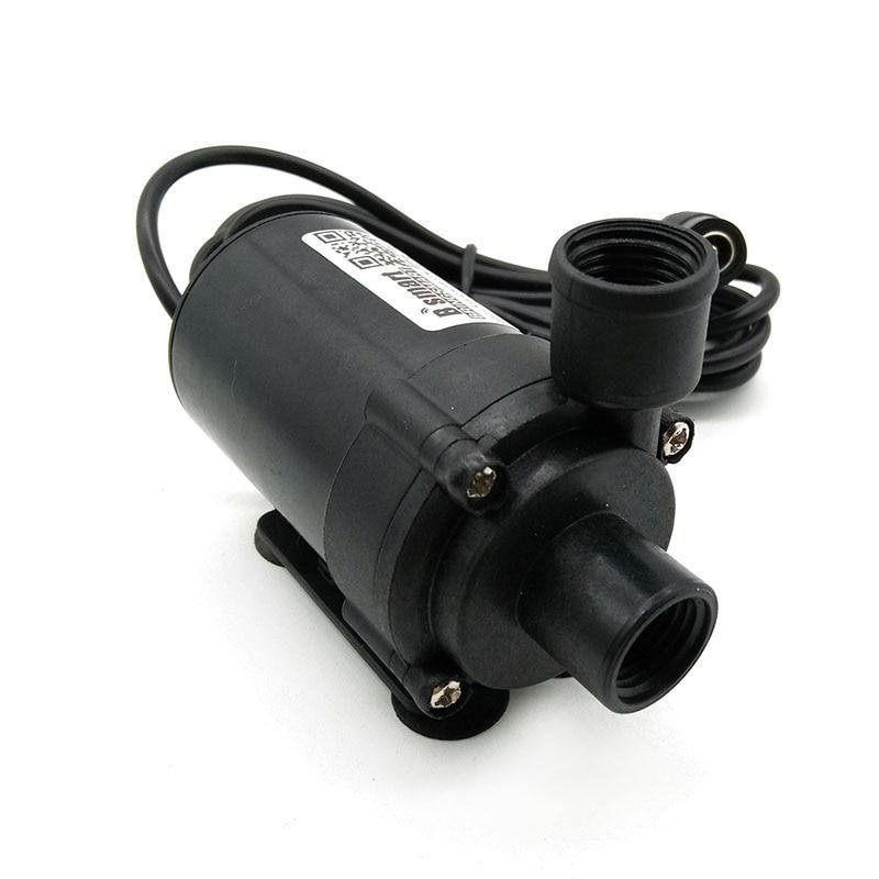 Envío gratis 24V CC bomba de agua sumergible sin escobillas SR660C agua de mar acuario 12V Gran Velocidad 420-700L/H pecera 3,5-7 M