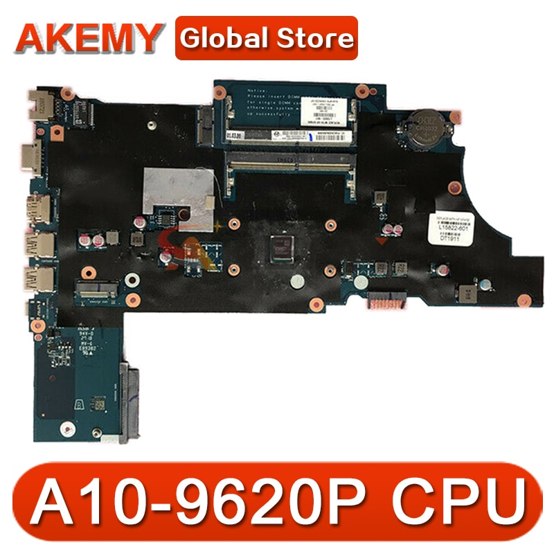 ل Hp Probook 455 G5 اللوحة المحمول مع A10-9620P وحدة المعالجة المركزية L15821-601 L15821-001 DAX9AAMB6E0 DDR4 MB 100% اختبار سريع السفينة