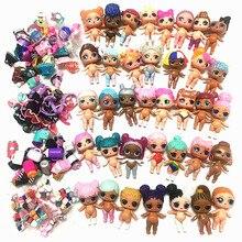 5/10 Sets 100% Original LOLs Puppen L.O.L. Überraschung Können Wählen 8CM Großen schwestern mit Kleidung Kleid Zubehör Spielzeug Mädchen Geschenk