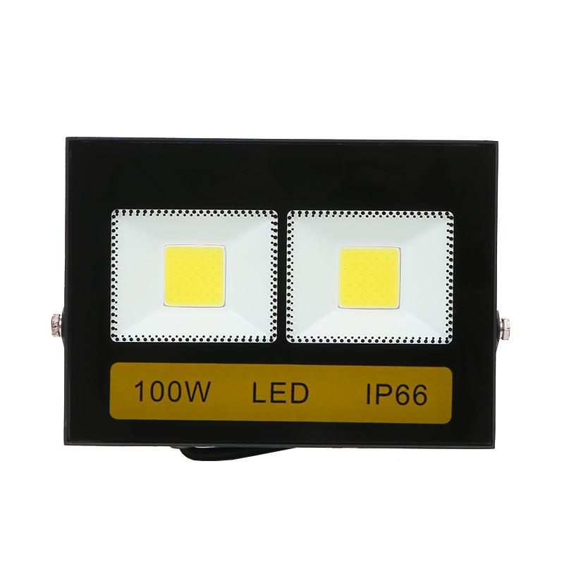 Reflector LED para exteriores 200W, 100W, 50W, impermeable, AC220V, 230V, 240V, Foco...