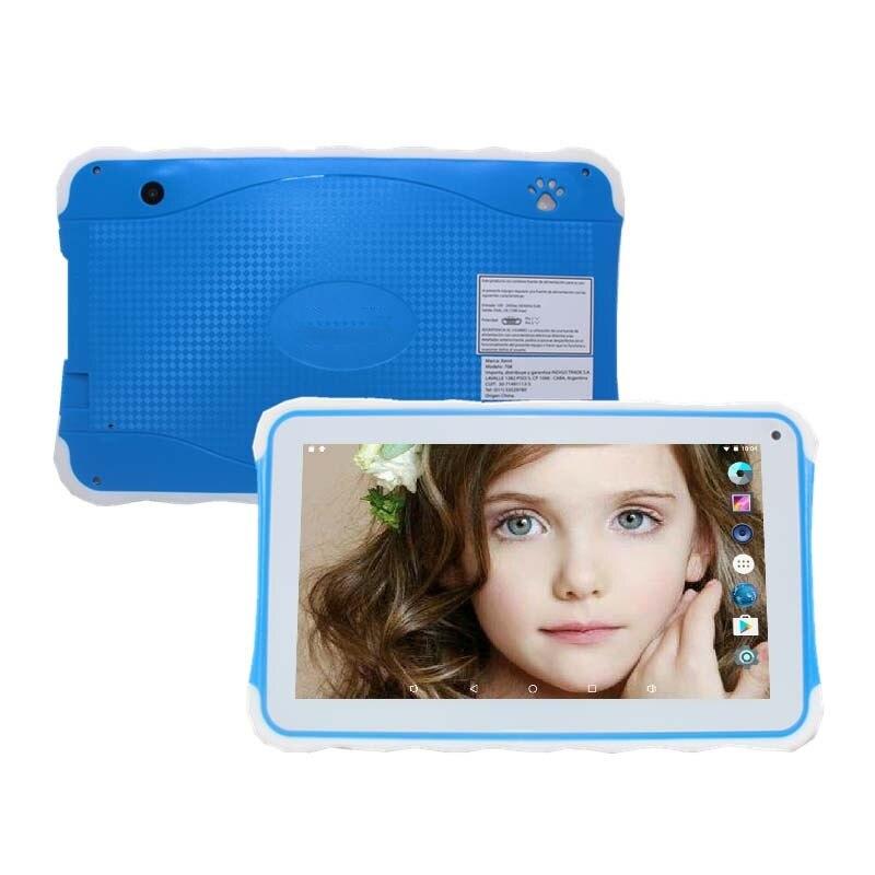 هدية مميزة للأطفال تابلت 7 بوصة x708 أندرويد 6.0.1 DDR3 1 جيجابايت + 8 جيجابايت واي فاي بلوتوث متوافق بشاشة لمس رباعية النواة كاميرا مزدوجة