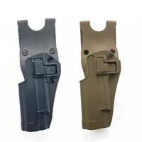 tactical gun holster concealed carry belt metal clip airsoft bag for all size handguns