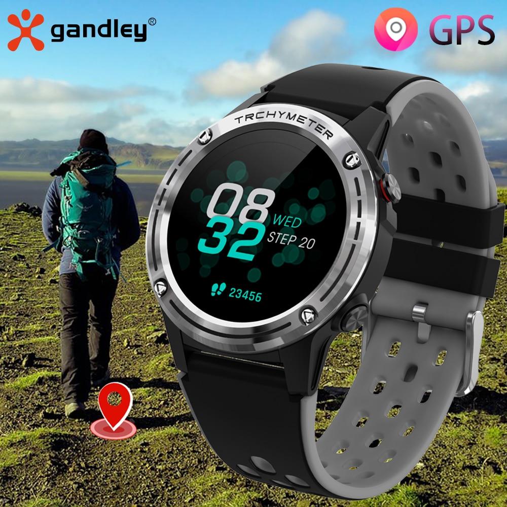 Gandley M6 GPS Smart Watch Men Women Sport GPS Smartwatch 2021 Android Life Waterproof Watch For And