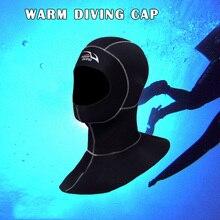 Capuche de plongée en néoprène 3MM avec capuche de combinaison dépaule chapeau de plongée en apnée casque YA88
