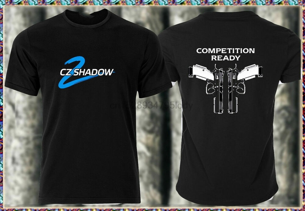 Raro CZ 75 Shadow 2 Mens Camiseta Tee nuevo modelo de diseño CZ SZ S-XXXL nuevo