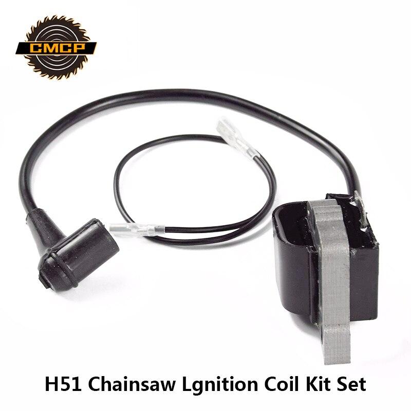 CMCP H51 motosierra Magneto de bobina de encendido Kit para motosierra gasolina de espaã a motosierras herramientas eléctricas de jardín