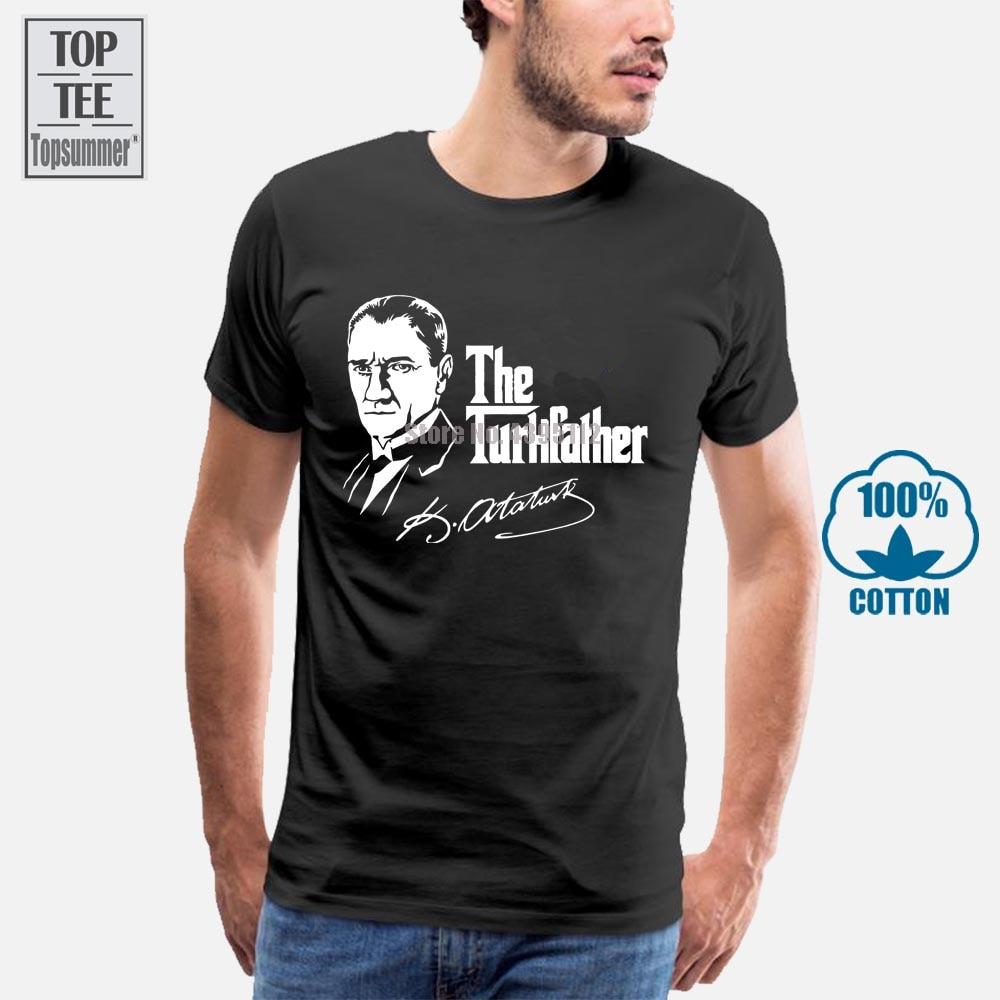 La camiseta Turkfather Mustafa Kemal Ataturk Turkei Turkiye, ropa para hombre, tallas grandes s-xxl, abrigo, ropa, Tops