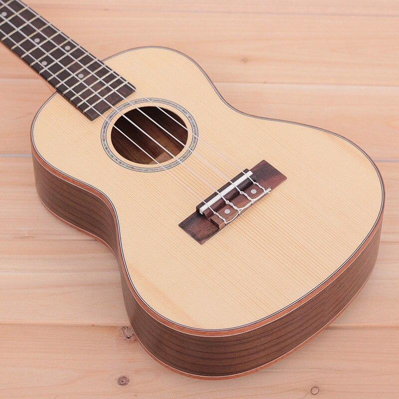 26 Inch Ukulele Spruce Veneer Ukulele Soprano Ukulele Guitar Toys Musical Gifts Instrument 4 String Hawaiian Mini Guitarra enlarge