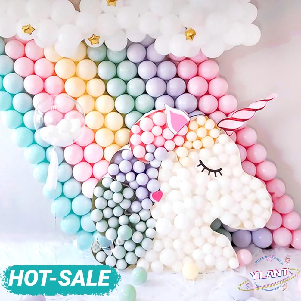 Globos de látex de Color Pastel de macarrón de 5 pulgadas para boda, fiesta de cumpleaños, arco de ducha de bebé, decoración