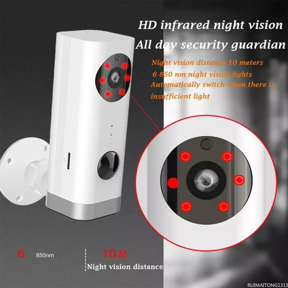 Rechargeable Battery Powered IP Camera Smart Home Indoor Security 1080P WIFI Camera Wide Angle Motion Detection